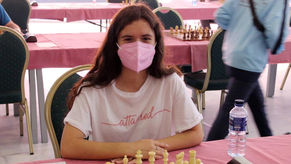 La ajedrecista motrileña Rosa Adela Lorente, subcampeona juvenil y tercera absoluta femenina