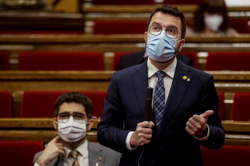 Aragonès no ve ningún motivo por el que el Tribunal de Cuentas pueda rechazar el aval del ICF