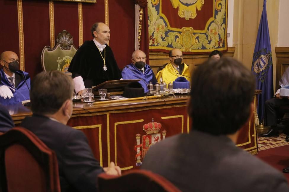 Acto de apertura del Curso Académico en la Universidad de Oviedo