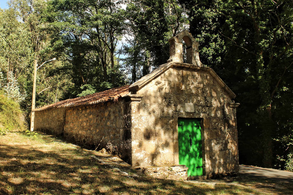 Foto de archivo de la capilla de San Cristóbal - FOTO: Alberto García Roldan / Galicia Pueblo a Pueblo