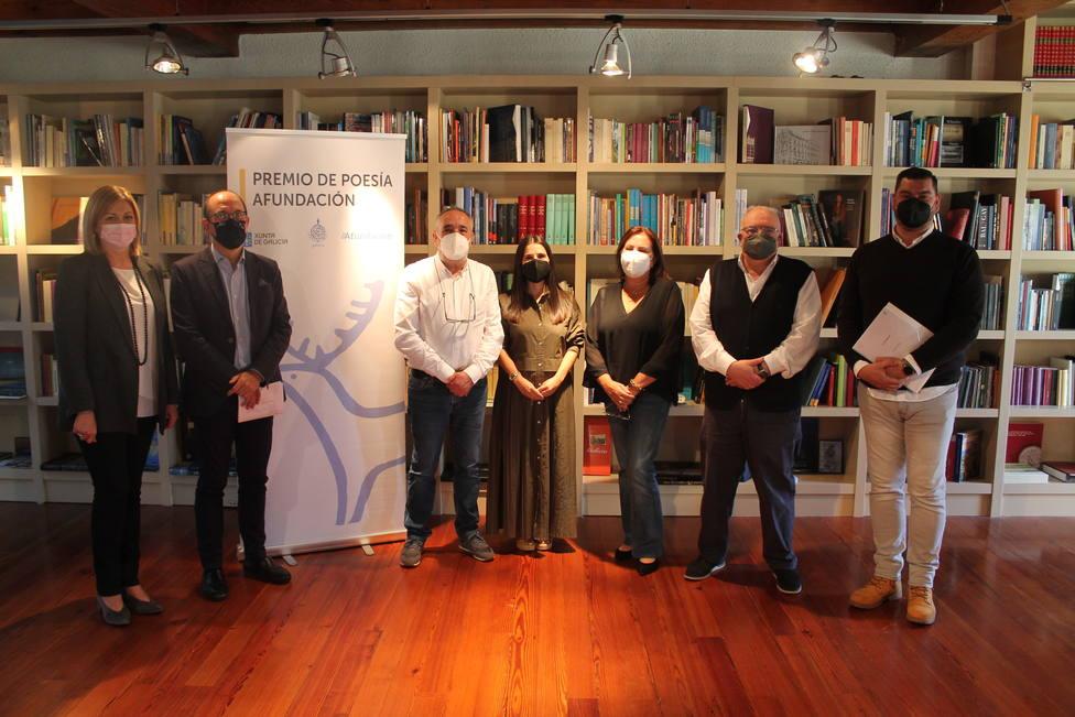 Integrantes del jurado de la XIX edición del Premio de Poesía Afundación - FOTO: XUNTA