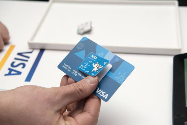 Empresa Visa presenta uso de nueva tecnología para pagos en Olimpiadas
