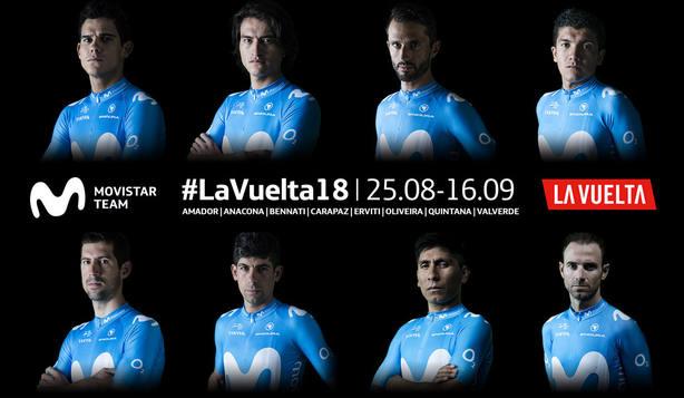 La Vuelta a España Movistar Team