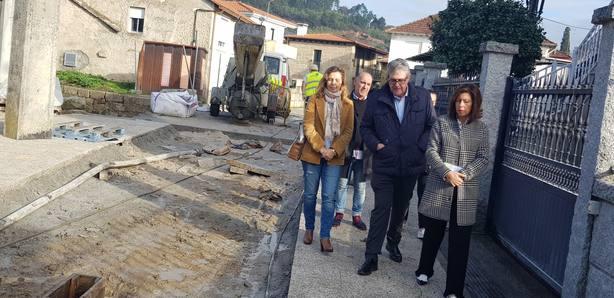 Marisol Díaz Mouteira visita Leiro