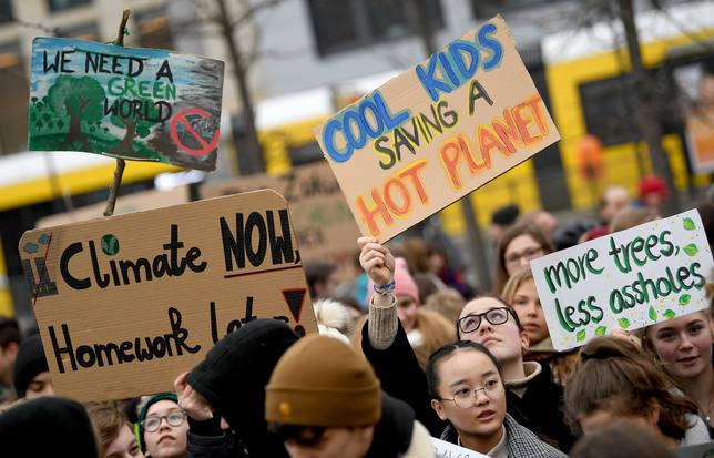 Más de 15.000 científicos europeos y de EEUU respaldan el movimiento Fridays for Future