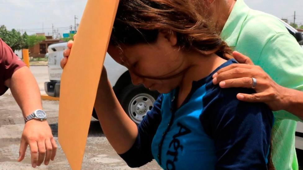 Tania Avalos, la mujer salvadoreña que ha perdido a su marido y a su hija en el Río Grande