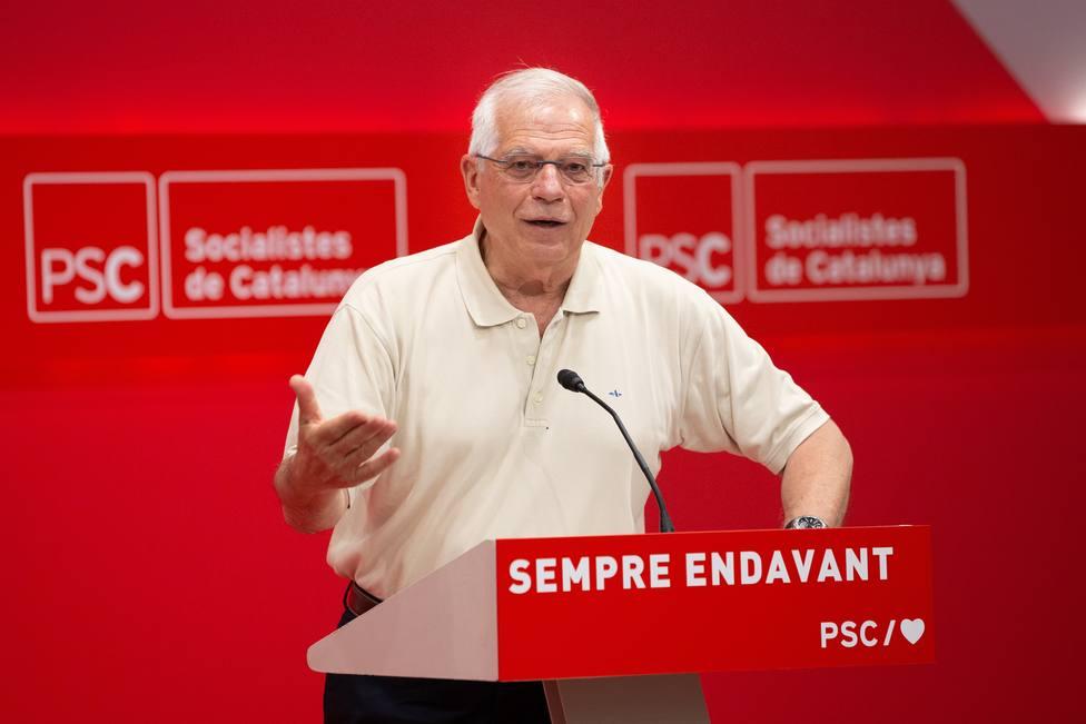 Josep Borrell: Es evidente que tendrá que haber dos catalanes en el Gobierno