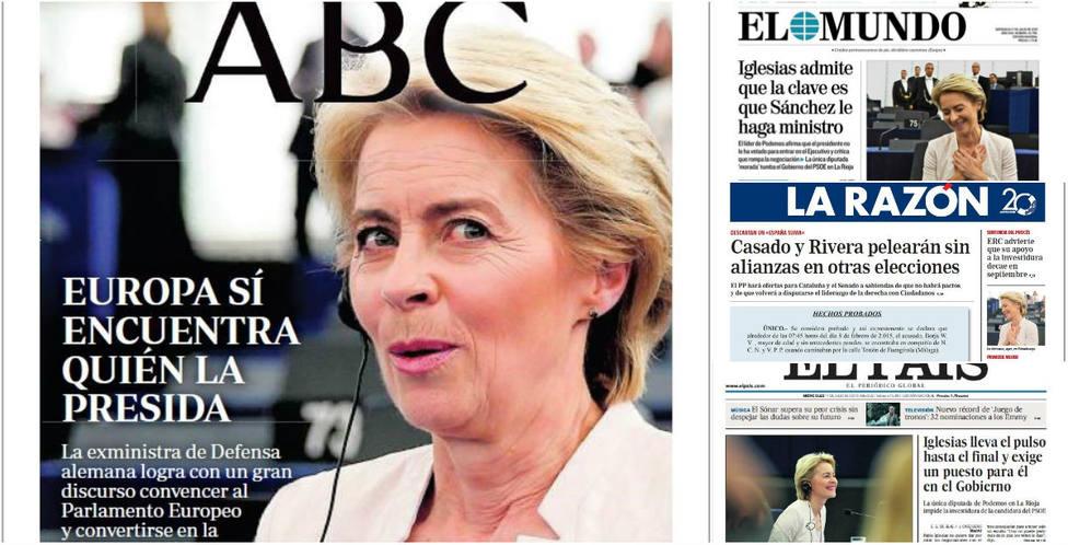 Iglesias intensifica su pulso personal con Sánchez, entre las portadas de hoy
