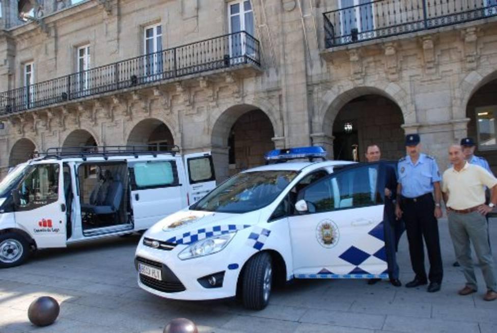 Efectivos de la Policía Local de Lugo