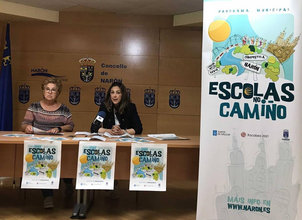 Las concejalas Mercedes Taibo y Natalia Hermida presentaron la iniciativa