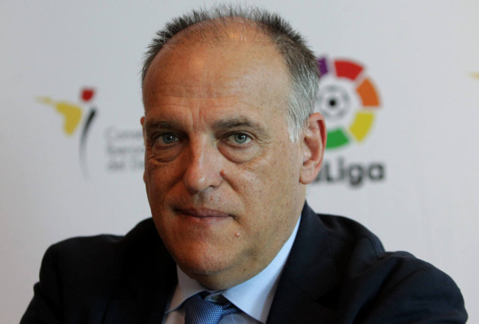 Tebas: Un futbolista me pidió denunciar el Levante-Zaragoza para no quedar manchado