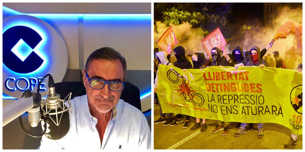 La respuesta de Herrera a los independentistas que acosan a una doctora por no hablar catalán