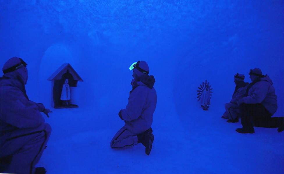 Una iglesia congelada en la Antártida: Así es el templo más al sur del mundo