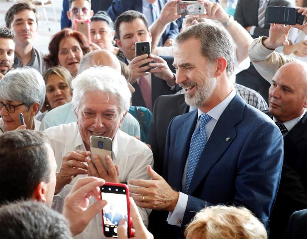 El Rey traslada un mensaje de apoyo total a los empresarios españoles en Cuba