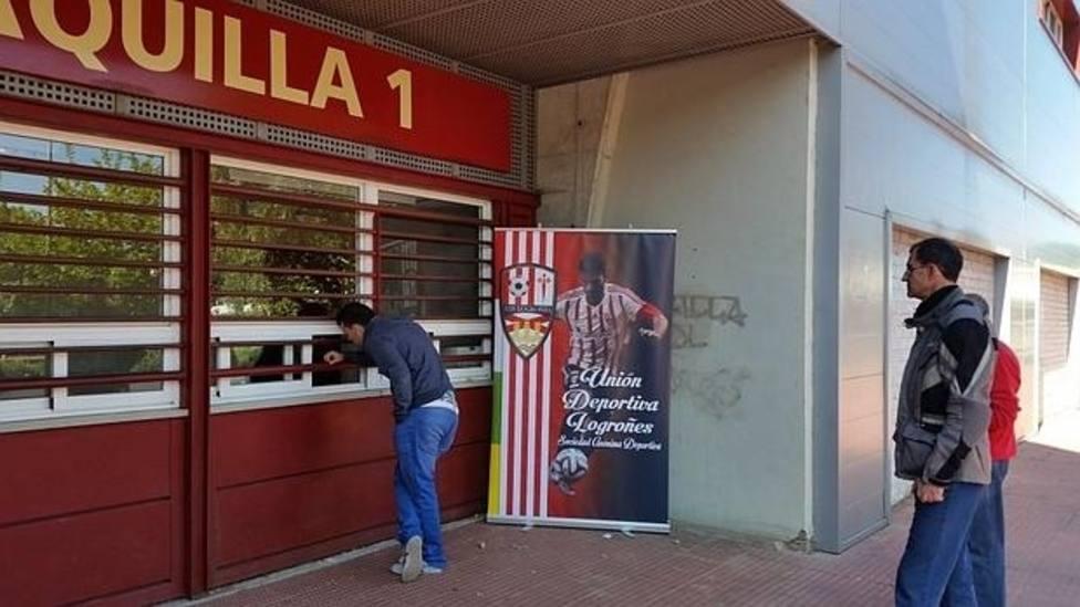 La UD Logroñés vende más de 8.000 entradas para el partido de la Copa del Rey ante el Valencia CF