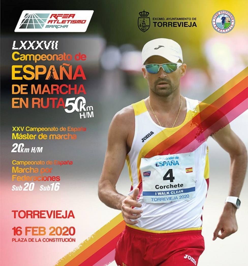 27 marchadores representarán a Murcia en los campeonatos de España en Torrevieja
