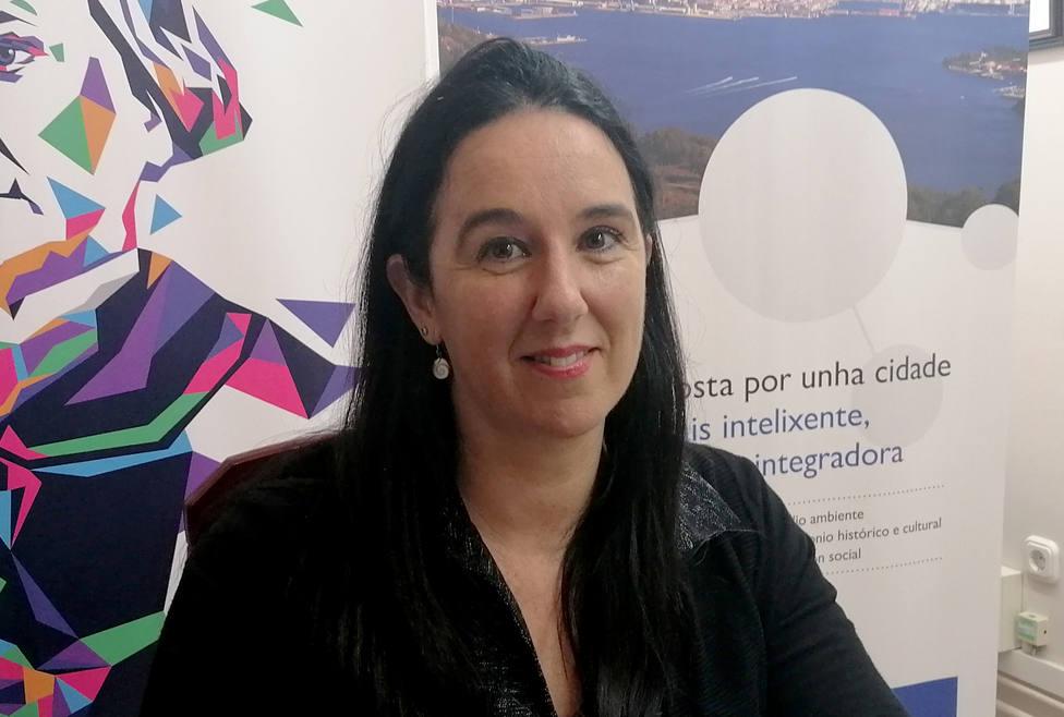 Eva Martínez, concejala de Benestar Social en el Ayuntamiento de Ferrol