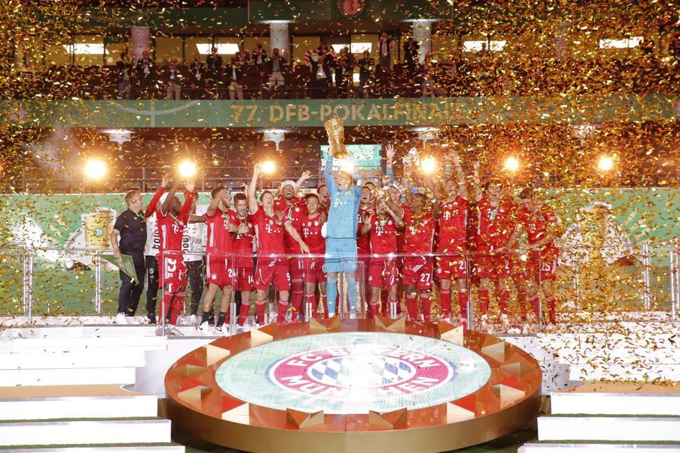 El Bayern Múnich conquista su vigésima Copa de Alemania
