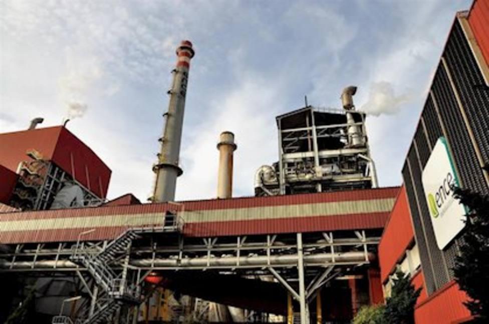 Desplome de la producción industrial en Asturias