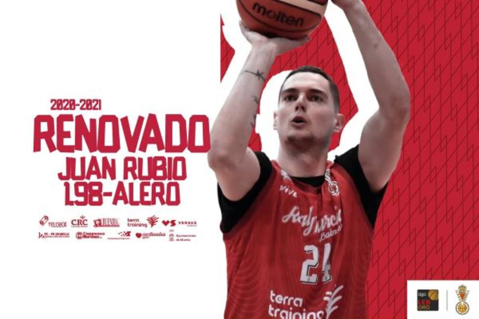 Juan Rubio renueva con Real Murcia Baloncesto