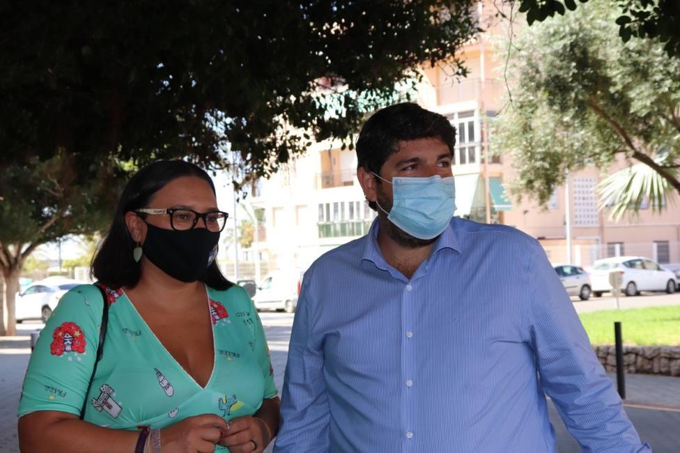 López Miras no descarta que Lorca retroceda a la fase 1 si la situación sanitaria empeora