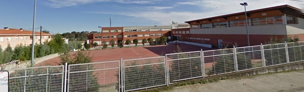 IES San Martín de Talayuela (Cáceres). Foto: GoogleMaps