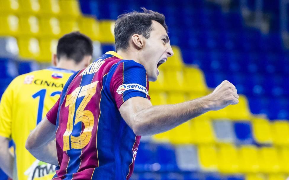 El Barça arrolla al campeón esloveno en su regreso a la Liga de Campeones