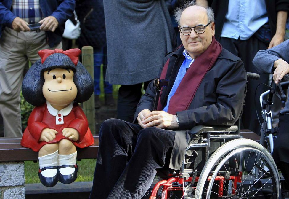 Muere el dibujante Quino, creador de Mafalda