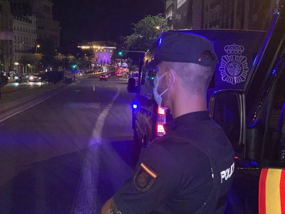 La Policía Nacional de Málaga intervino con rapidez.