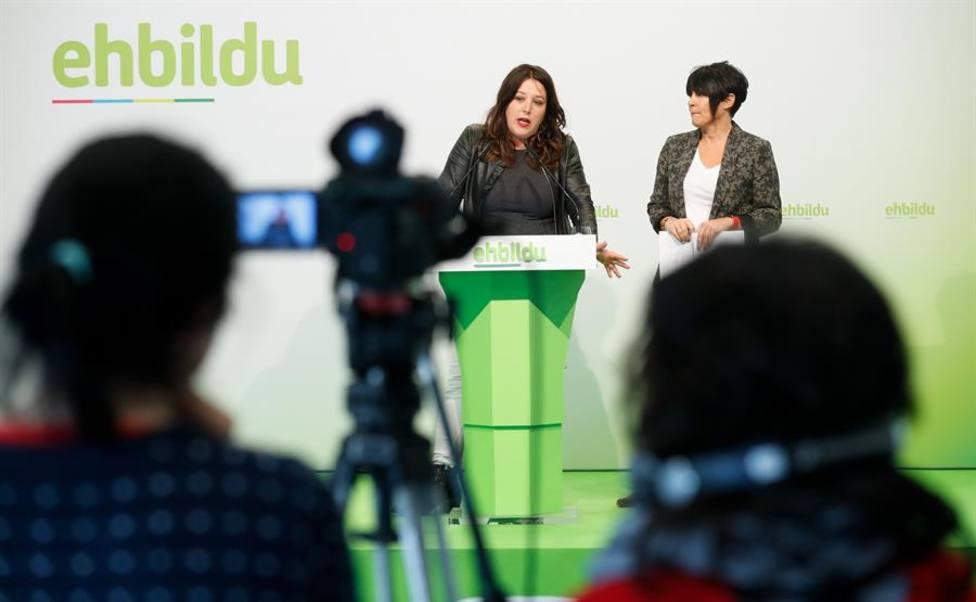 Maddalen Iriarte, portavoz de EH Bildu en el Parlamento vasco