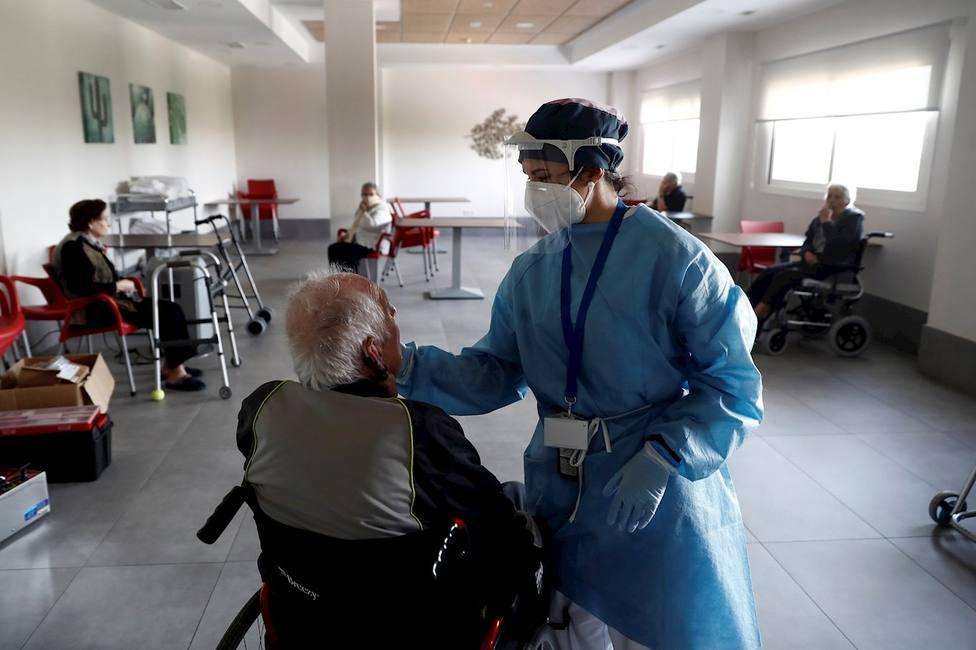 Sanitaria atiende a un mayor
