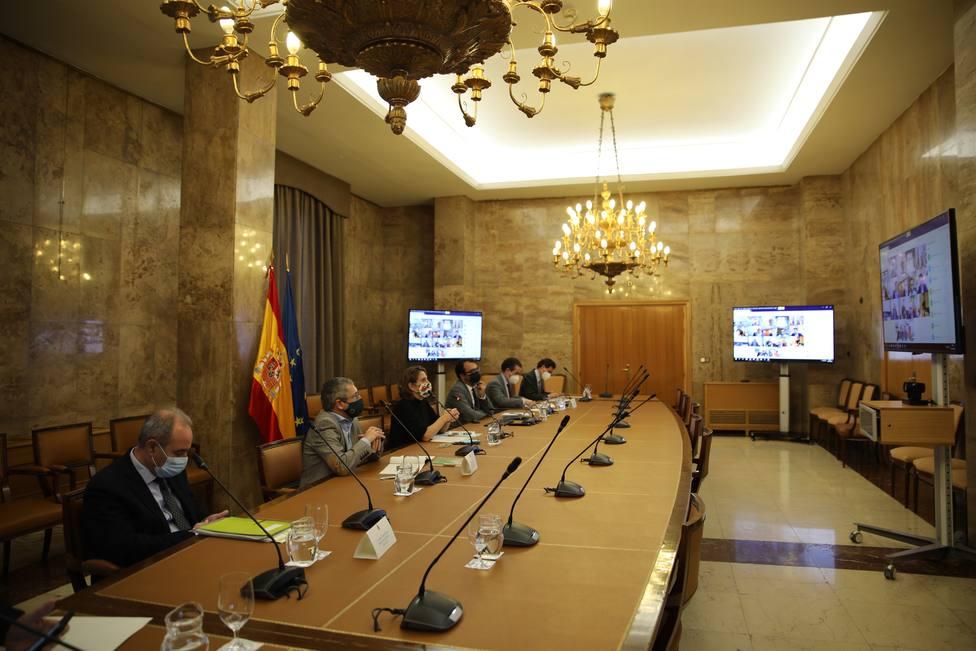 Ribera explica un plan de recuperación económico a la Conferencia Sectorial de Medio Ambiente