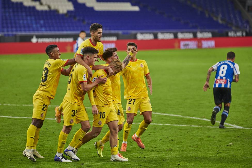 El Girona provoca la primera derrota del Espanyol