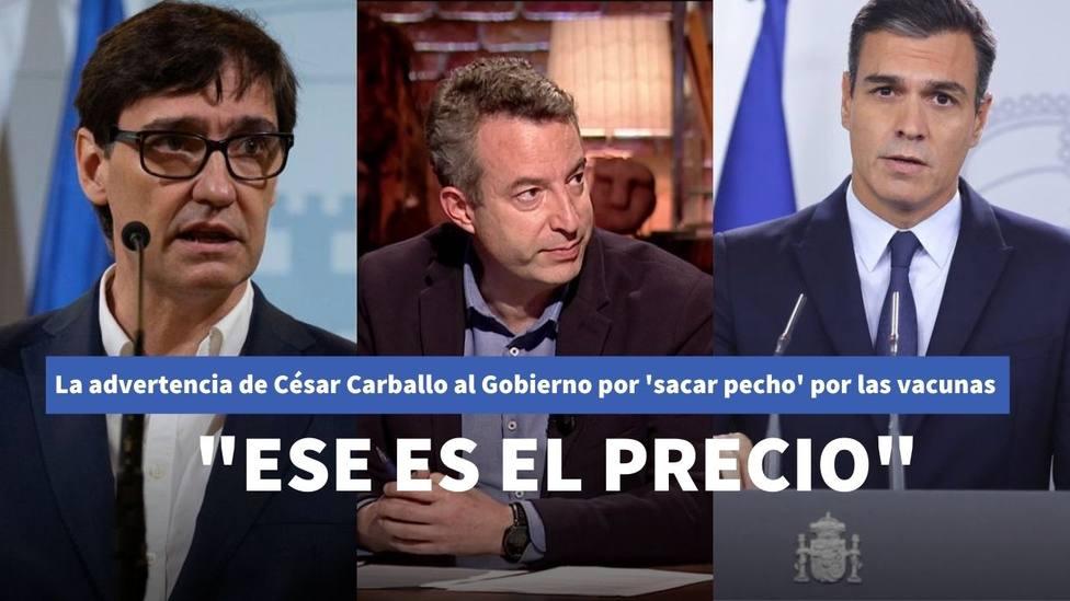 La advertencia del doctor César Carballo al Gobierno sobre las consecuencias de sacar pecho por la vacuna
