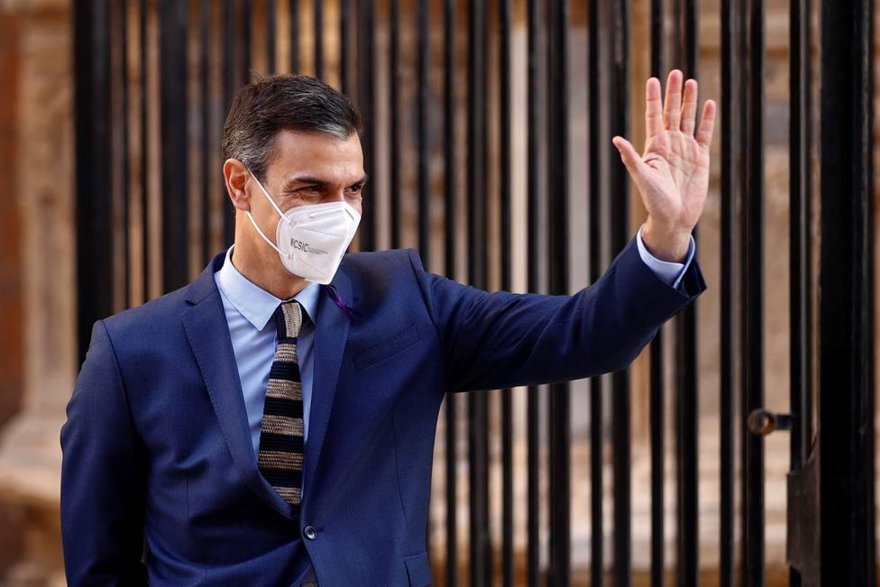 Pedro Sánchez cree que ya estamos en el principio del fin de la pandemia