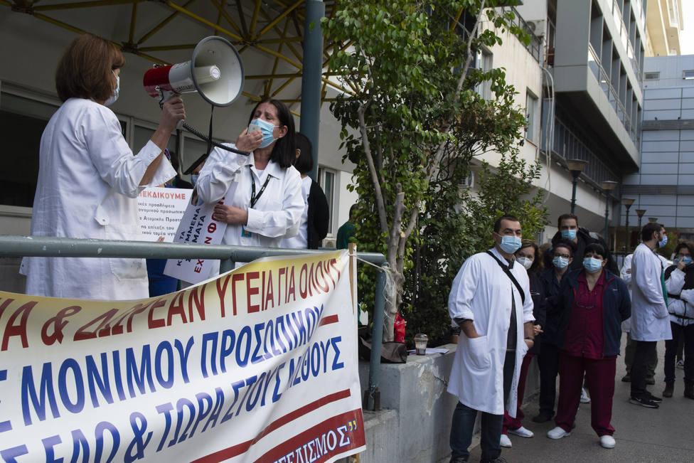 Grecia prorroga el confinamiento hasta el 7 de diciembre