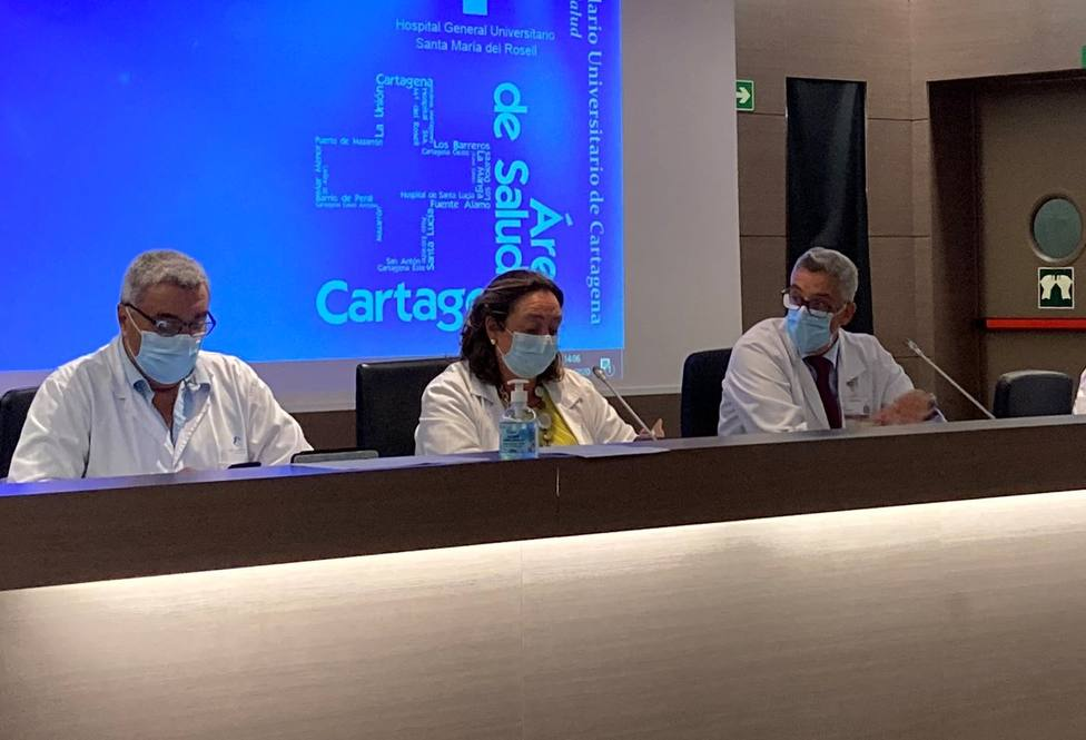 1.300 sanitarios del área de Cartagena ya se han vacunado frente a la Covid-19