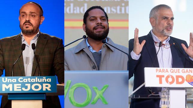 PP y Cs habrían quedado por delante de Vox el 14-F si se hubieran  presentado juntos - Elecciones Catalanas - COPE
