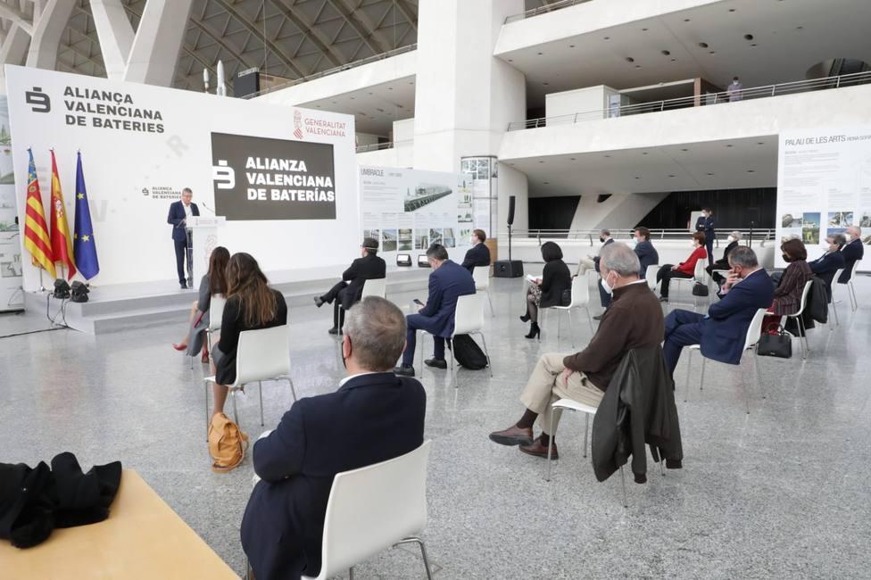 Presentación de la Alianza Valenciana para las Baterías