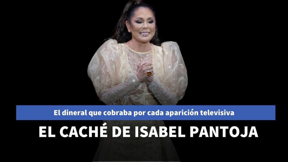 Desvelado el dineral que cobraba Isabel Pantoja por hacer playback en la televisión