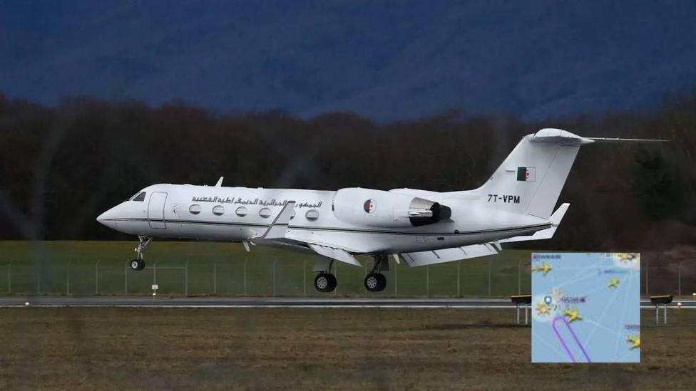 Un jet de Argelia despega hacia Logroño para recoger a Ghali y da la vuelta al llegar Ibiza