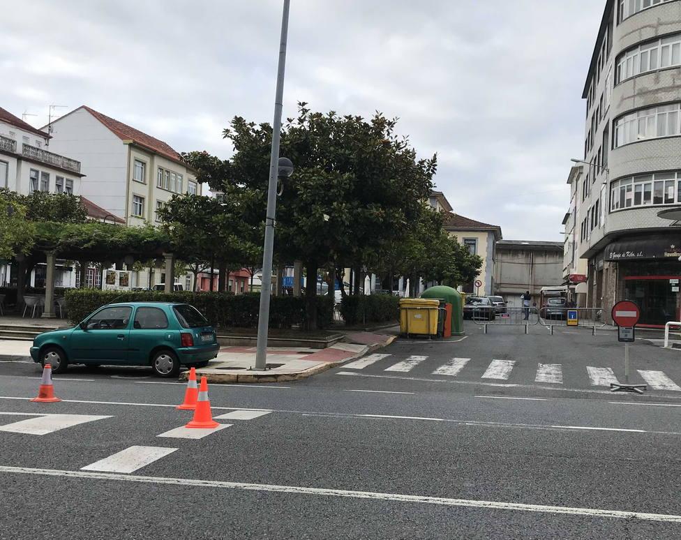 El corte de tráfico afectará a la calle de la Plaza del Ayuntamiento. FOTO: Concello de Ferrol