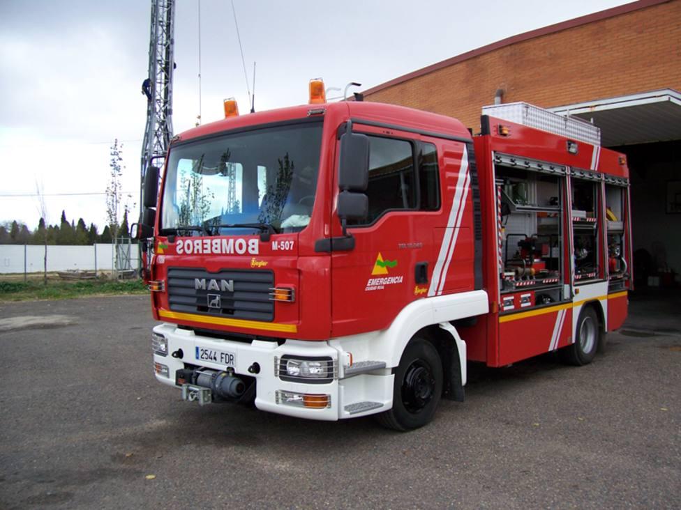 Del rescate se han encargado los bomberos de Daimiel / Lanza