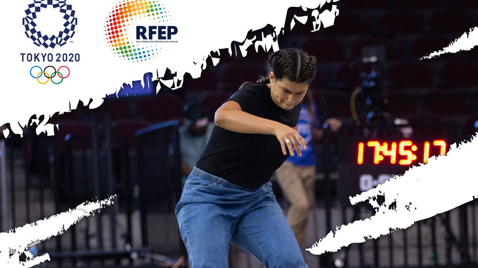La skater española Andrea Benítez
