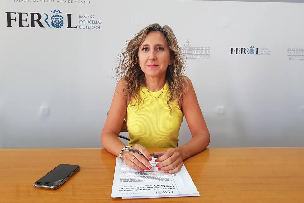 Martina Aneiros es portavoz adjunta del grupo municipal del Partido Popular de Ferrol - FOTO: PP de Ferrol