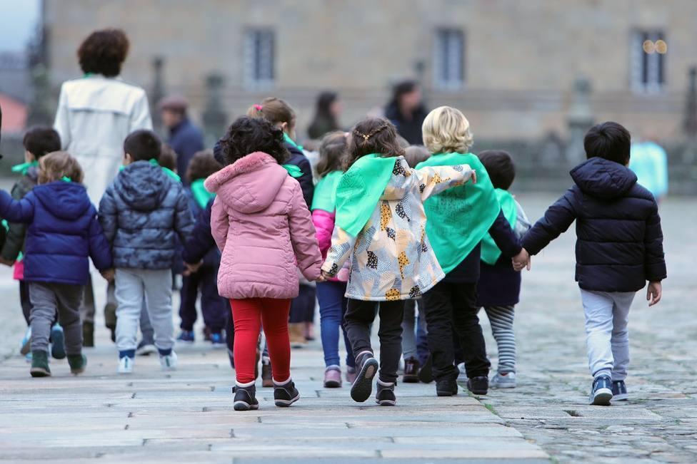 Foto de archivo de un grupo de niños menores de 12 años FOTO: Europa Press / Ana Varela