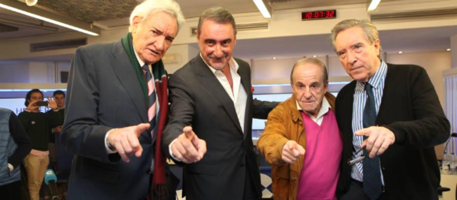 La radio vive un día histórico en COPE