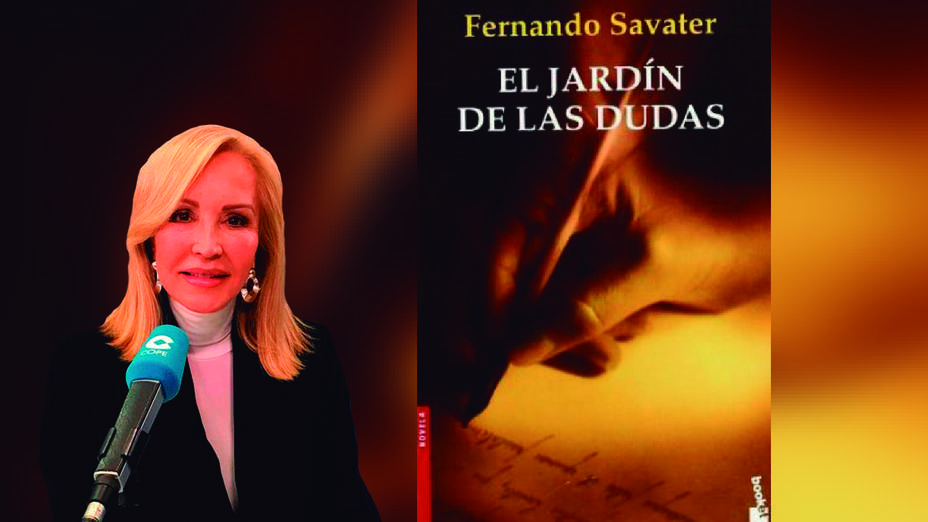 Carmen Lomana y su lectura para el Día del Libro
