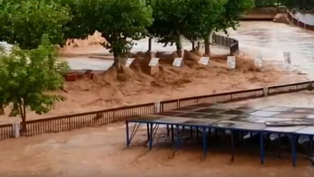 Santa María de Huerta en una imagen de Youtube de TV Soria