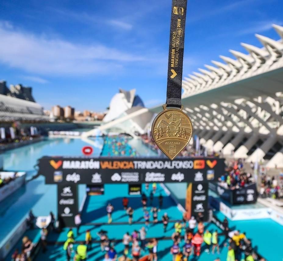 The Medal Company, fabricante de las medallas del Maratón de Valencia de los récords